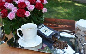 Кофе Torrefacto чашка цветы