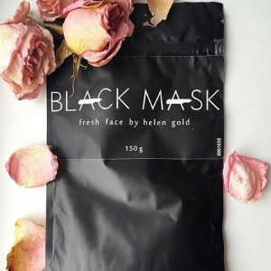 black mask упаковка и розы