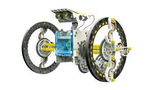 робот-конструктор на колесах