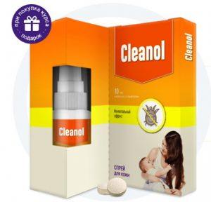 Cleanol Home спрей от клещей