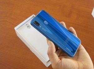 Huawei p 20 lite siniy