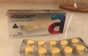 Нобазит лекарство
