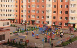 Панорама детская площадка