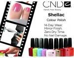 CND Shellac: набор гель-лаков