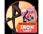 Iron Lady: прочные колготки с эффектом коррекции